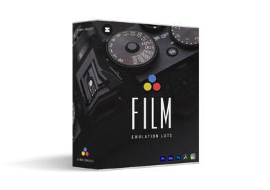 Film Emulation Collection LUTs Stockpresets.com